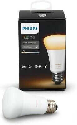 Philips Hue White A19 Dimmable Smart LED Bulb