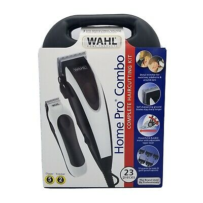 Wahl HomePro Combo Hair Clippers Trimmer 23 Piece Complete Haircut Kit FAST SHIP