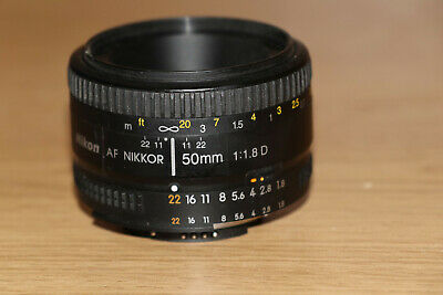 Nikon  50mm f/1.8D Auto Focus Nikkor Lens  THE NIFTY FIFTY    #8