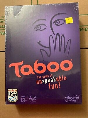 Taboo The Game of Unspeakable Fun! Hasbro Game *COMPLETE SEALED/DAMAGED BOX*