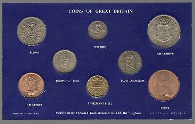 1964 Elizabeth II Coins Of Great Britain Set | Coin Sets | Pennies2Pounds