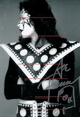 KISS~Ace Frehley~Signed~Photo~8x10~RP
