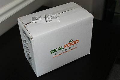 Real Food Blends (Salmon, Oats & Squash) flavor - 12 Pouches