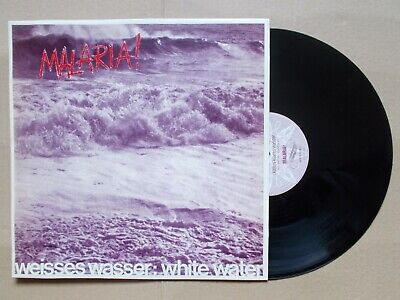 experimental new wave   Malaria  White Water EP 45 vinile NMint vinyl 1982