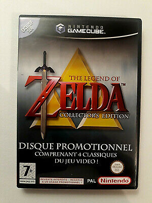 The Legend Of Zelda Collector's Edition Pal Fra Tres Bon Etat Complet Gamecube