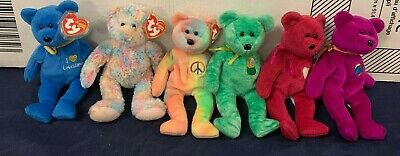 TY Beanie Baby Bundle of 6 Bears