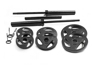 CAP Barbell Olympic Weight Set |110 LBS with Plates| IN HAND- FREE SHIPPING!