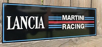 Martini Racing  Ford Gt Man Cave Reproduction Garage Sign