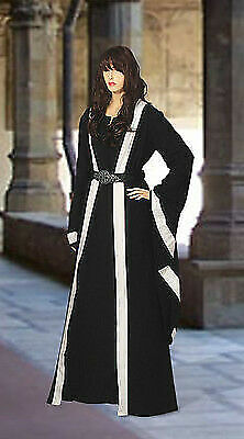 Medieval Wicca Pagan Ritual Robe Handmade Natural Cotton