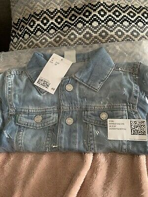 girls age 2-3 Denim Jacket Bnib