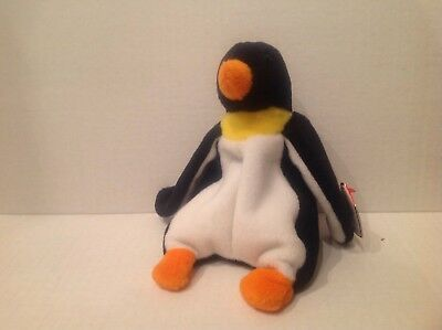 Ty The Beanie Baby Waddle the Penguin NWMT