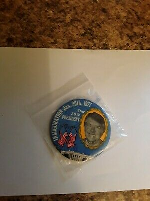 JIMMY  CARTER 1977  Campaign/Inauguration Button