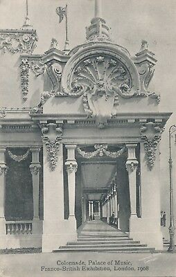 1908 Franco-British Exhibition Palace of Music Colonnade