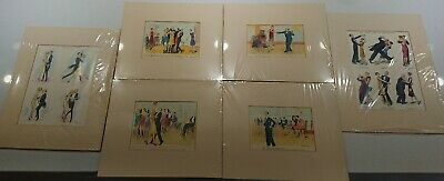 Punch Dancing Drawings 1920's