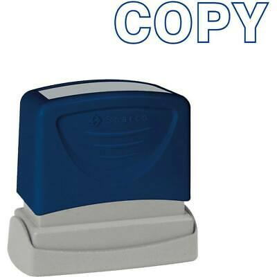 Sparco COPY Blue Title Stamp
