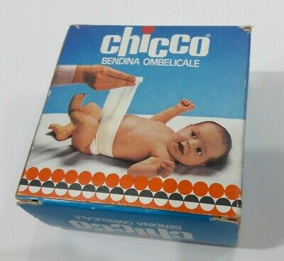 vintage chicco bendina ombelicale-new old stock