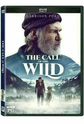 The Call of the Wild [DVD] [2020] NEW* Harrison Ford * Now Shipping!