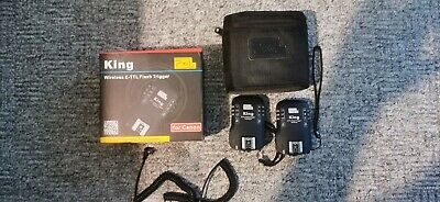 Pixel King Wireless E-TTL flash trigger for Canon flashes
