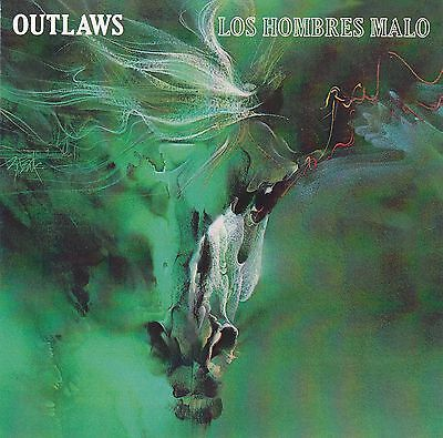 CD THE OUTLAWS - Los Hombres Malo / Southern Rock