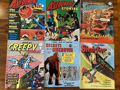 Alan Classcomics Silver Age Bundle Of 6, In Good Condition