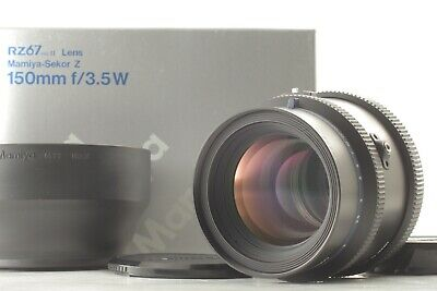 FedEx✈ [Almost UNUSED] MAMIYA Sekor Z 150mm f/3.5 W Lens for RZ67 PRO II D JAPAN