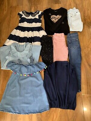 Girls clothes bundle 9 Items (inc NEXT) age 6 - 7 years