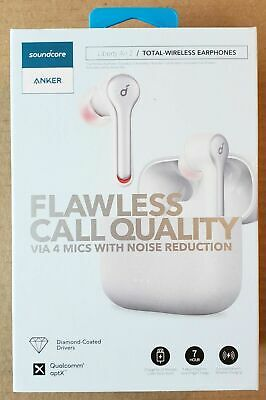 NEW Anker Soundcore Liberty Air 2 Total-Wireless Earphones Earbuds White