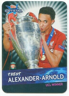 2018 2019 Topps Crystal UEFA Champions League winners UK Trent Alexander-Arnold