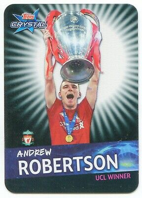 2018 2019 Topps Crystal UEFA Champions League winners UK ltd. Andrew Robertson