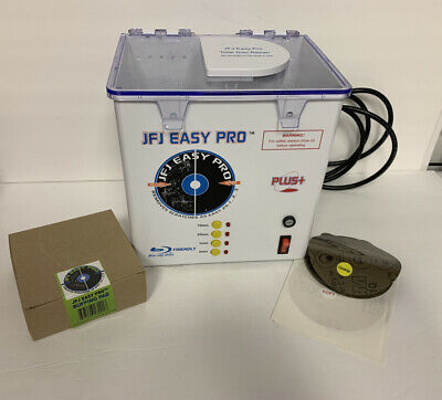 JFJ Easy Pro Disc Cleaner And Repair System W/ Soft & Coarse & Buffing Pad