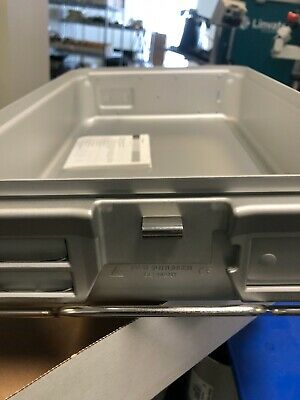 4 EA BRAND NEW: Aesculap JK740 Sterilazation Container Bottom Pan Only