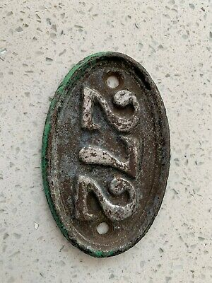 Victorian Cast Iron Door Number 272