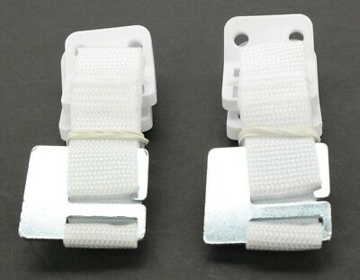 Safety 1st Furniture Wall Straps 2 Count Whiter AK