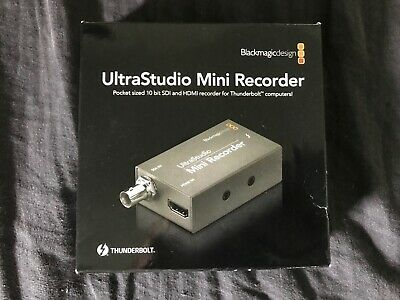 Blackmagic UltraStudio Mini Recorder with Thunderbolt cable