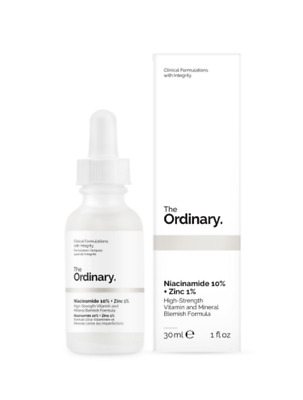 The Ordinary Niacinamide 10% + Zinc 1% 30ml Damaged Box
