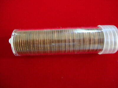 Two rolls of wheat penny/'s 1859 To 1958 D A Nice Mix Of Teens to 50/'s