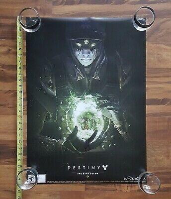 Destiny The Dark Below Official Video Game Bungie Promo Poster 2014 Activision