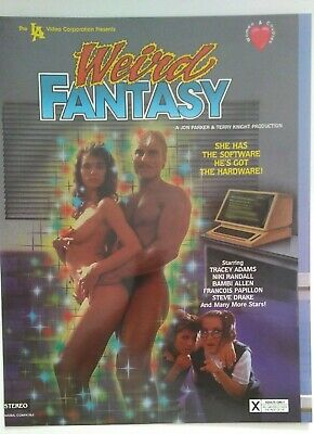 Tracey Adams in Weird Fantasy Video Promo Ad Slick Poster