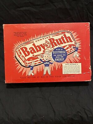 """Vintage 1930's Curtiss Baby Ruth Candy Box 11.5 x 8"""""""