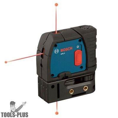 Bosch GPL3-RT 3-Point Self-Leveling Alignment Laser Reconditioned