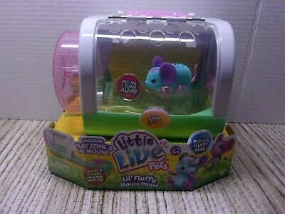 Little Live Pets Lil' Fluffy Mouse House with Mouse