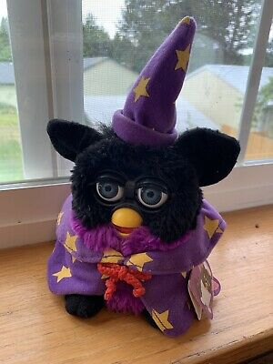 Vintage Wizard Furby Collectible Sorcerer 1999 Animated Moving Talking Works