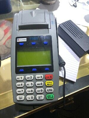 First Data FD-50 Credit Card Processing Terminal. see the pics