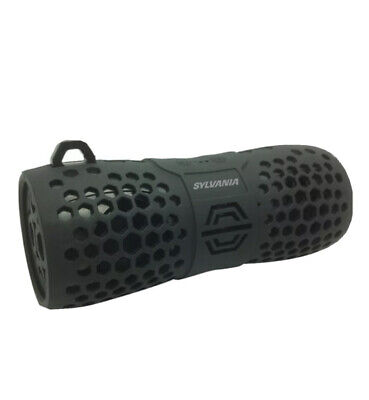 SYLVANIA SP353 Waterproof Rugged Portable Bluetooth Speaker - Black