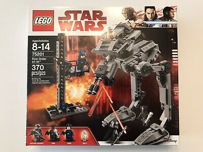 Lego Star Wars First Order AT-ST 75201 New and Sealed
