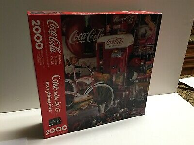 Coca Cola 2000 Piece Photo Puzzle Extra Large 42 by 34 Coke adds to Life Everything nice by Springbok