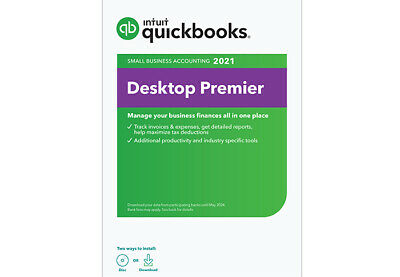 4 user QuickBooks Premier 2021 for PC - check our 3500+ POSITIVE REVIEWS!