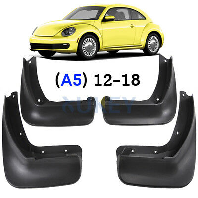 Genuine Front /& Rear Splash Guards Mud Guards Mud Flaps For VW Beetle 2012-2017