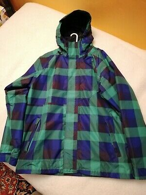 Details zu Vans Men's RUTHERFORD MOUNTAIN EDITION Hooded Jacket Coat GrayBlack PARKA SMALL