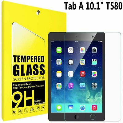 "TEMPERED GLASS Screen Protector For Samsung Galaxy Tab A6 10.1"" SM-T585 SM-T580"